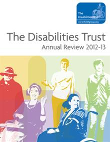 Annual report: The Disabilities Trust