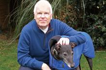Joe Akerman of the Retired Greyhound Trust