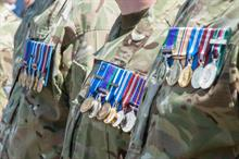Number of armed forces charities in decline, Directory of Social Change report says