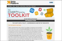 Digital toolkit for charities launched