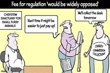 Fran on the proposed fee for regulation