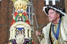 'Henry VIII' prepares to celebrate 500 years of Hampton Court Palace