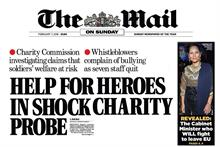 Help for Heroes denies Mail on Sunday data-protection allegations