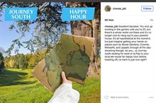 National Trust's winning tap-to-choose Instagram game
