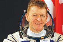 Astronaut Tim Peake becomes an ambassador for the Prince's Trust