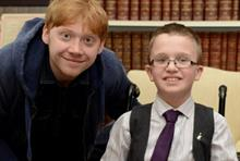 Rupert Grint becomes an ambassador for Starlight Children's Foundation