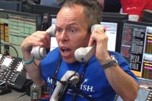 Warwick Davis becomes a stockbroker for the day to support the Make-A-Wish Foundation