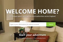 Barnado's 'Carebnb' site apes Airbnb to highlight state of care-leaver accommodation