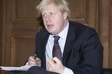 Boris Johnson seeks New Year's Eve sponsor