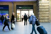 Waitrose targets commuters with first railway station store