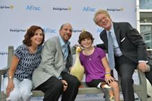 Aflac honors those who left footprints fighting cancer