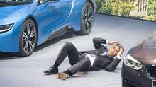 BMW CEO recovering after collapsing at Frankfurt Motor Show press conference