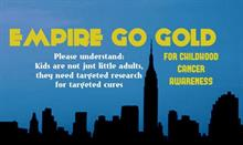 Empire State Building, childhood cancer groups joust on social over #EmpireGoGold effort