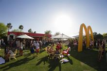 McDonald's gives Coachella attendees a taste of new sandwich