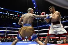 Latino boxer fights for a good cause