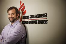 Newsmaker: Jason Cone, Doctors Without Borders