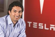 Reyes returns to Tesla in the communications driver's seat
