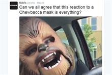 The PR Week 5.27.2016: Kohl's jumps on Chewbacca mom viral video; J&J's new CCO