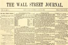 Wall Street Journal marks 125th anniversary with microsite, art show