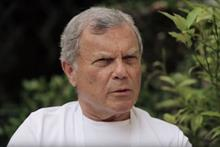 Watch: WPP CEO Sir Martin Sorrell at Cannes Lions