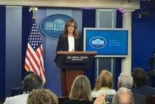 (Real) White House resurrects (fictional) West Wing press secretary for anti-drug message