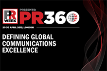 PRWeek's PR360 global industry extravaganza set for April
