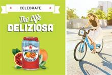 Sanpellegrino teams up with bike shares across country to promote app