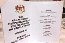 Malaysia deputy speaker shows regret and humour over parliamentary dinner 'scissors salad' gaffe