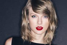 Taylor Swift label comms head on utilizing celebrity spokespeople
