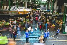 Event TV: Borough Market marks millennial with mass footprint event