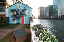 In pictures: Airbnb hosts party on its floating house