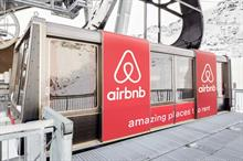 In Pictures: Airbnb launches Courchevel ski cable car competition