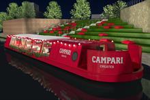 Campari to host masterclasses on narrowboat