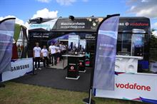 In pictures: Samsung and Vodafone bring double-decker bus to Creamfields