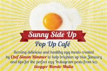 British Lion Eggs to host 'Sunny Side Up' café