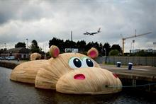 Thames hippo to return at St Katharine Docks