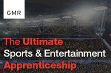 GMR Marketing launches 'ultimate' sports and entertainment apprenticeship