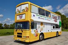 The Happy Egg Co. embarks on UK 'Eggy' bus tour