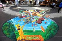 In pictures: Haribo's 3D street art activity at Westfield London