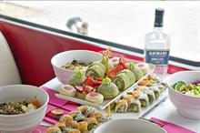 Hayman's Gin to stage sushi-themed bus tours
