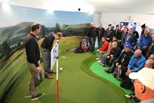 In pictures: RPM creates Ryder Cup putting experience for Sky Sports