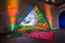 In pictures: Kipling's immersive kaleidoscope creation in London
