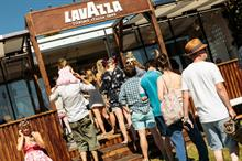 Inside Lavazza Dolce Vita at Wilderness festival