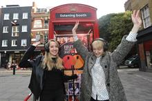 Mastercard's Brit Awards Listening Booth opens in Covent Garden