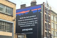 Patagonia launches UK environment campaign in London's Shoreditch