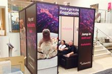 In pictures: IMP creates Googlebox booth for Sofaworks