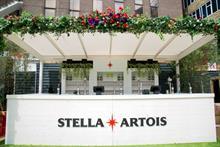 Inside the Stella Artois Vantage Point activation