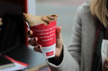 The Economist launches insect crepe campaign