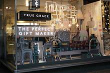 True Grace launches Christmas-themed pop-up in John Lewis