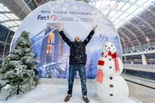 First Great Western snowglobe lands in Paddington station